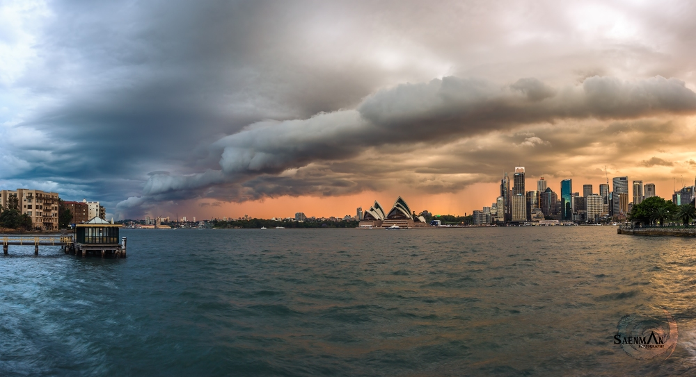 Sydney_storm_sunset061115